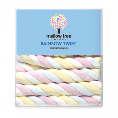 Mallow Tree Rainbow Twist Marshmallows 180g