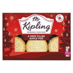 Mince Pies x6 360g Mr. Kipling