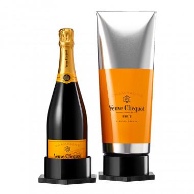 Veuve clicquot champagne brut 75cl 12� coffret gouache
