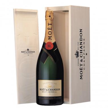 Moet imperial champagne magnum 1.5l 12� coffret bois