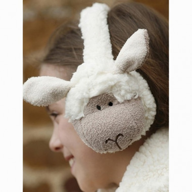 Cache-Oreilles Peluche Mouton