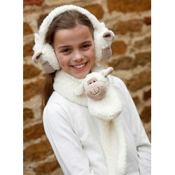 Cuddly Sheep Scarf 91 cm
