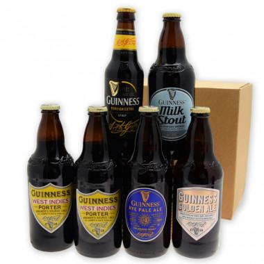 Composition bières Guinness