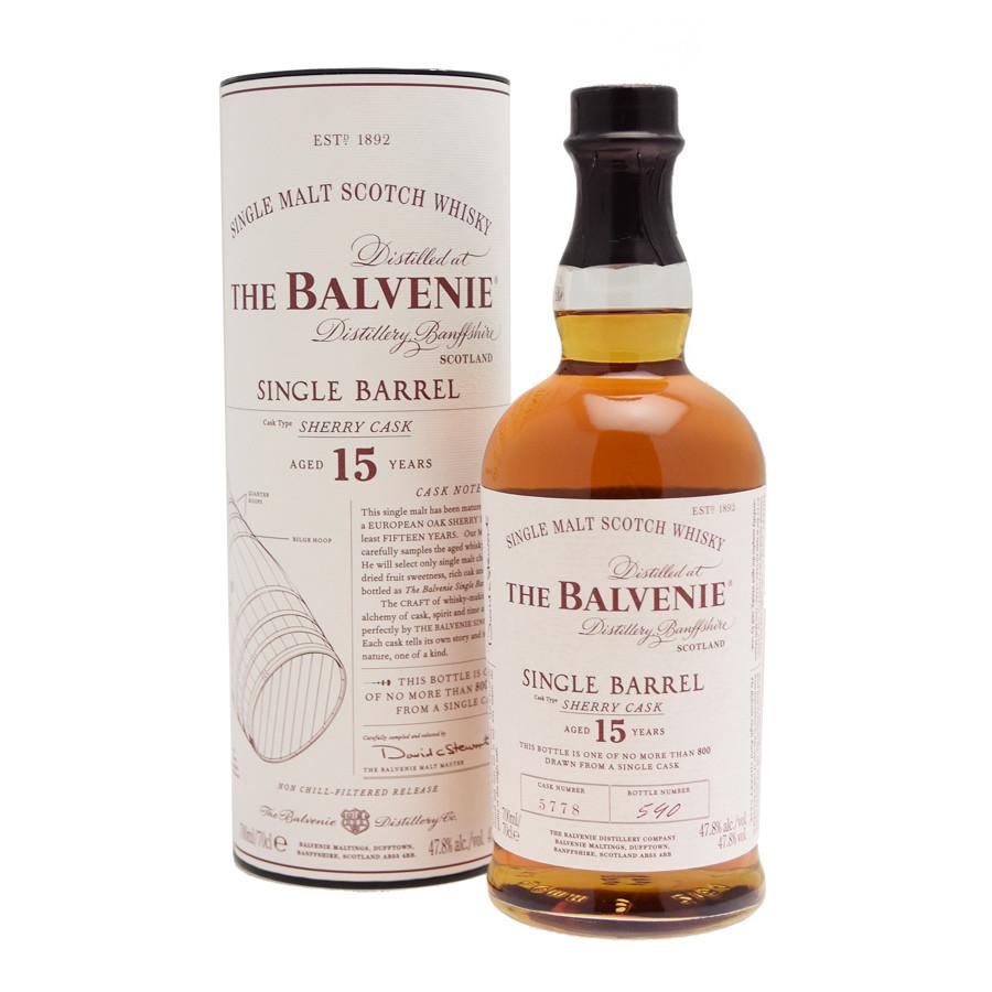 balvenie single barrel sherry cask)