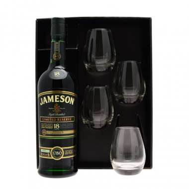 Gift Set Jameson 18 Year Old Limited Reserve 70cl 40°