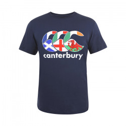 T-Shirt Nations du Rugby Canterbury