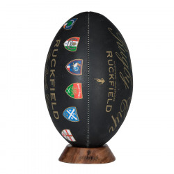 Ruckfield Rugby Cup Black Ball