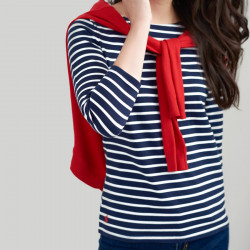 Tom Joule Harbour Ecru Striped Top