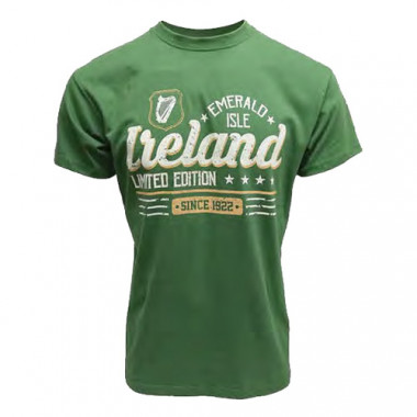 Mc Ireland Light Green Tee Shirt