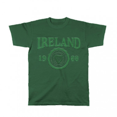 Tee Shirt Mc Ireland Vert 1988
