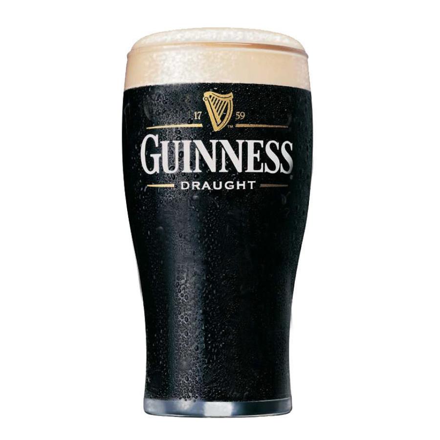 6 verres bière Guinness lyre 50cl pint