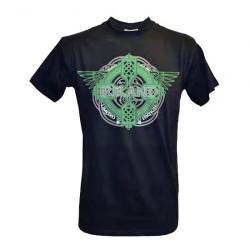 T-Shirt Ireland Noir Ailes