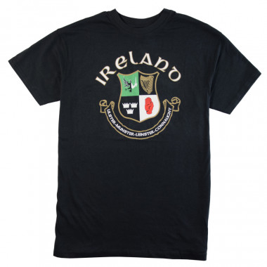Tee shirt manches courtes ireland marine