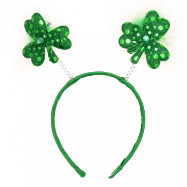 Green Clover Headband