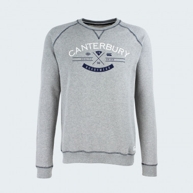 Sweat Haumi Gris Chiné Cantebury