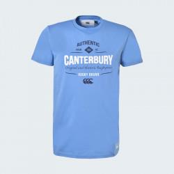 T-Shirt Manches Courtes Tokahu Bleu Canterbury