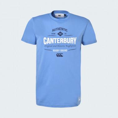 Tee shirt tokahu bleu cantebury