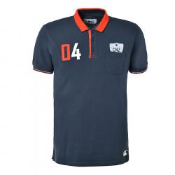 Canterbury Navy Blue Nokomai Short Sleeves Polo