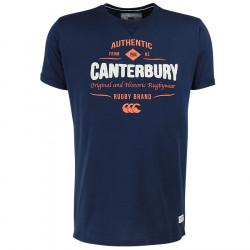 T-Shirt Marine Canterbury