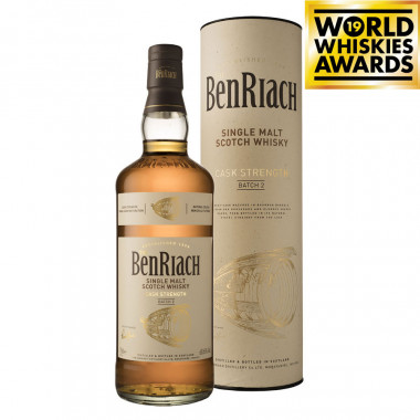 Benriach Cask Strength Batch 2 70cl 60.6°