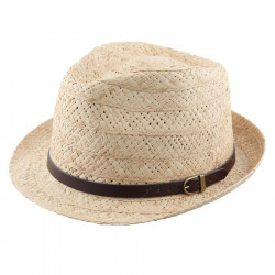 Celtic Alliance Trilby Raffia Hat