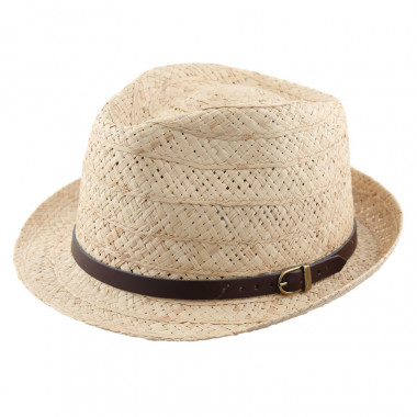 Chapeau Raphia Trilby Celtic Alliance