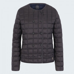 Mousqueton Brown Quilted Jacket
