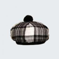 Beret stewart dress grey lochcarron of scotland