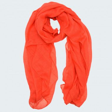 Out Of Ireland Red Plain Scarf