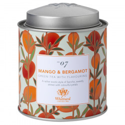 Whittard Mango and Bergamot Green Tea 100g