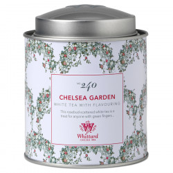 Thé Blanc Chelsea Garden Whittard 50g
