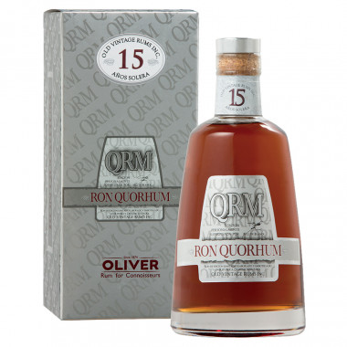 Quorhum Rum 15 Solera 70cl 40° with case