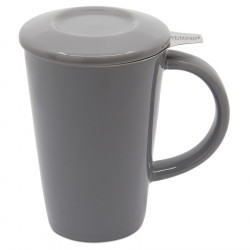 Mug Tisanière Pao Gris Whittard 350ml