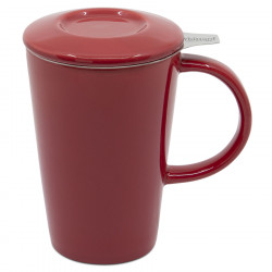 Whittard Red PAO Teapot Mug