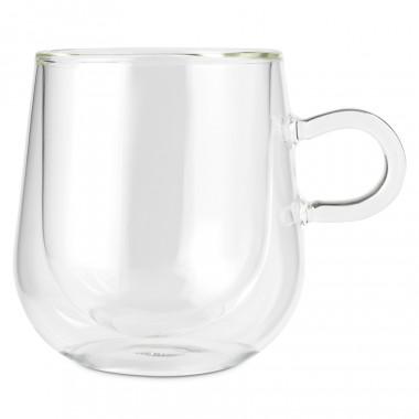 Whittard 2 Double Walled Mugs Calli Set