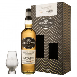 Glengoyne 12 Years Old Gift Box 70 cl 43° + 1 Glass