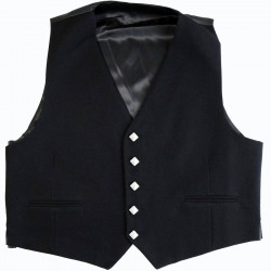5 Buttons Black Jacket