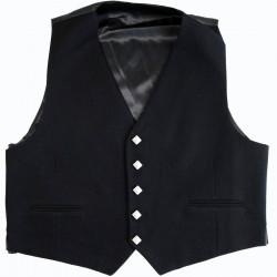Gilet 5 Boutons Noir