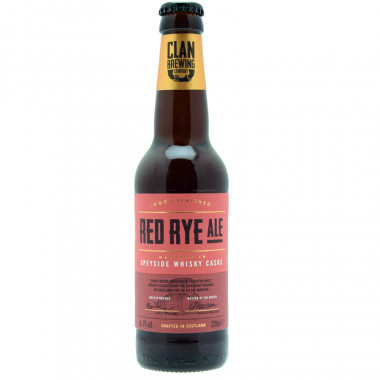 Clan Brewing Red Rye Ale 33cl 8°