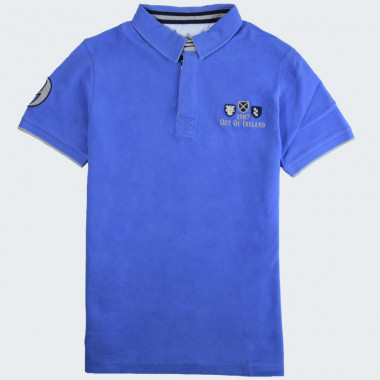 Out Of Ireland Blue Polo Shirt