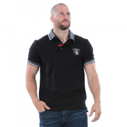 Ruckfield Piqué Cotton Black New Zealand Polo