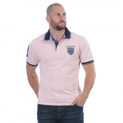 Ruckfield Piqué Cotton Pink We Are Rugby Polo Shirt