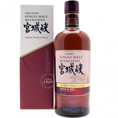 Miyagikyo Sherry Wood Finish 70cl 46°