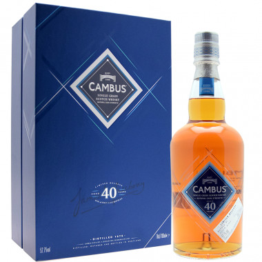 Coffret Cambus 40 Years Old 1975 70cl 52.7°
