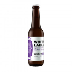 Emelisse White Label Imperial Russian Stout with Peated Islay Whisky 33cl 11°
