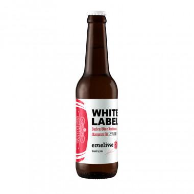 Emelisse white label barley wine bordeaux margaux batch 2018 33cl 12.5�
