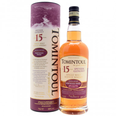 Tomintoul 15 Years Old Portwood Finish 70cl 46°