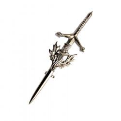 Thistle Tin Kilt Pin