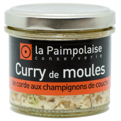La Paimpolaise Mussels with Mushrooms and Curry 80g