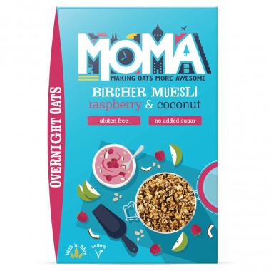 Moma Raspberry & Coconut Muesli 400g